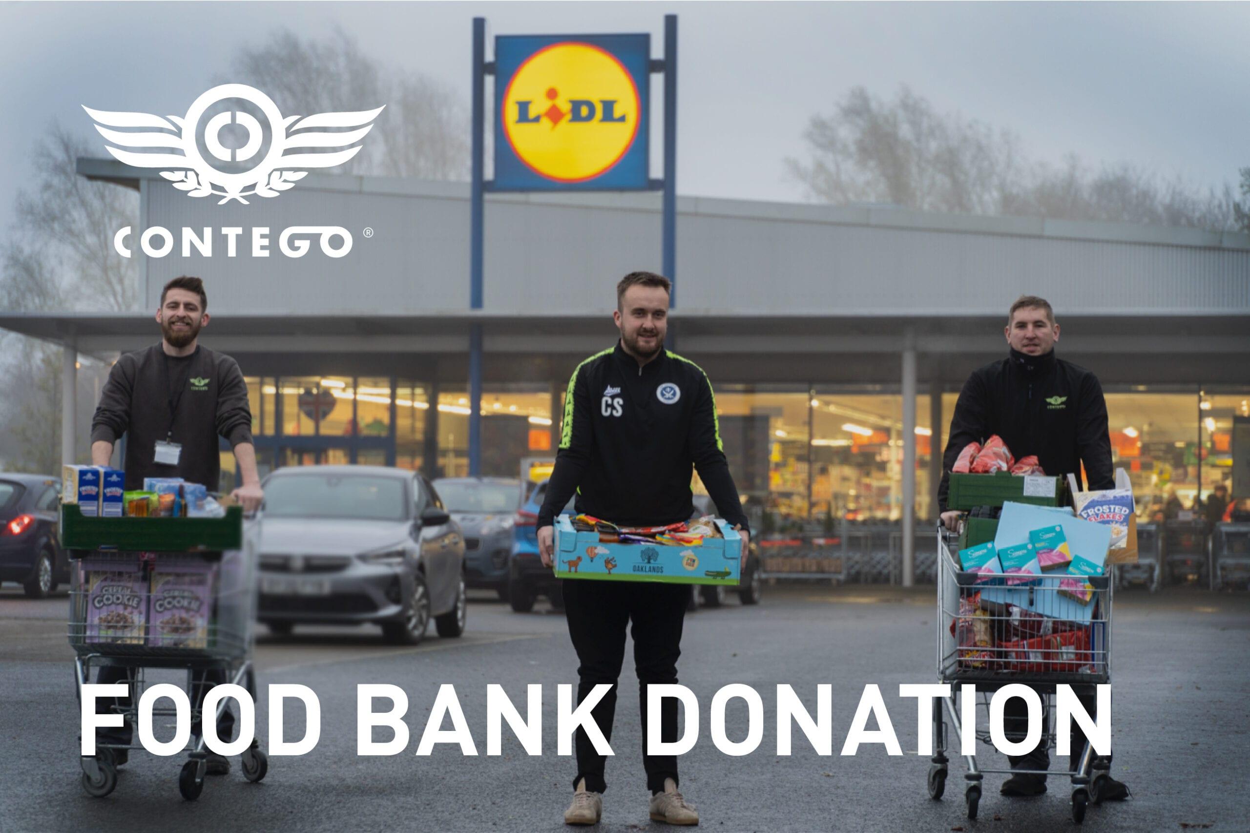Contego Food Bank Donation Blog