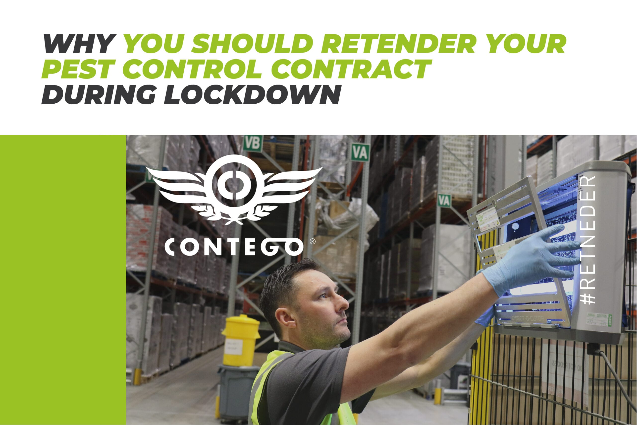 Why You Should Retender Your Pest Control Contract During Lockdown Blog
